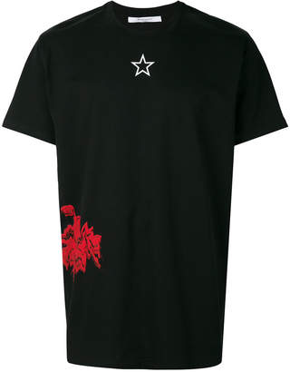 Givenchy graphic print Columbian-fit T-shirt