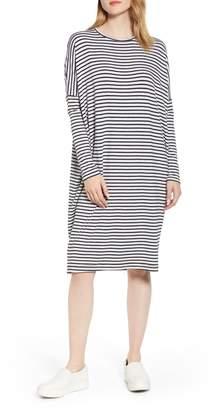 Lou & Grey Stripe Signaturesoft Dolman Dress