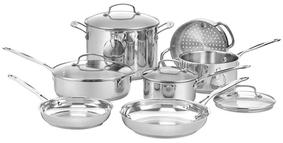 CuisinartChef's Classic Cookware Set (11 PC)