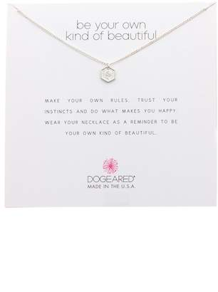 Dogeared Sterling Silver Be Your Own Kind of Beautiful Pendant Necklace