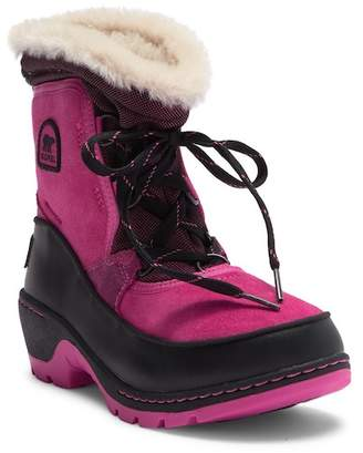 Sorel Trivoli III Camo Fleece Lined Boot (Little Kid & Big Kid)