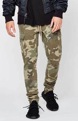 PacSun Drop Skinny Camo Cargo Jogger Pants