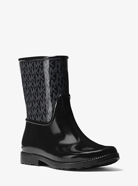 Michael Kors Sutter Logo Rubber Rain Boot