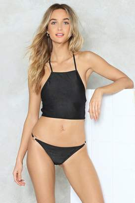 Nasty Gal O-Ring the Alarm Bikini Set