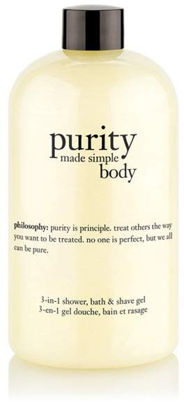 Philosophy Philosophy | Purity Made Simple Body 3-In-1 Shower, Bath Shave Gel