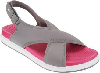 Ryka Neoprene Cross-Band Sandals - Leisure
