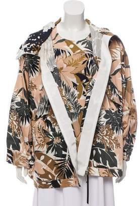 Rag & Bone Floral Print Jacket Set