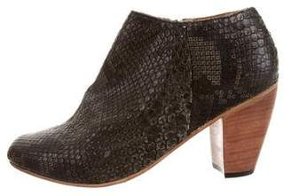Dieppa Restrepo Python Ankle Boots