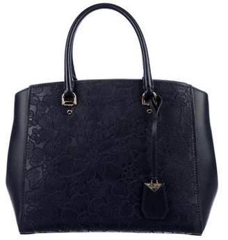 Michael Kors Embroidered Leather Bag