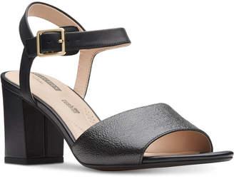 Clarks Collection Women's Deva Quest Dress Sandals Women's Shoes