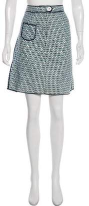 Tory Burch Printed Mini Skirt