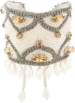 Etro (エトロ) - Etro crystal pearls embellished bracelet