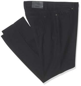 Brax Men's Cadiz TC Two Tone 2.0 Five Pocket Casual Straight Fit Trousers