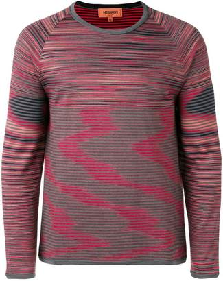 Missoni striped reversible sweater