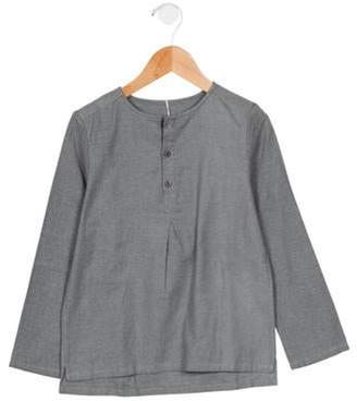 Anais & I Girls' Long Sleeve Crew Neck Top w/ Tags grey Anais & I Girls' Long Sleeve Crew Neck Top w/ Tags