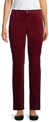 ST. JOHN'S BAY Classic Fit Corduroy Pants