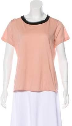 Lanvin Short Sleeve Bateau Top w/ Tags
