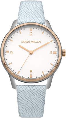 Karen Millen Leather Strap Watch