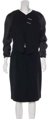 Giorgio Armani Silk Skirt Suit