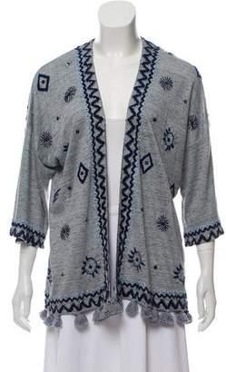 Calypso Beaded Embroidered Cardigan