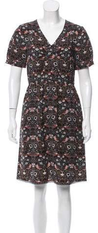 Marc by Marc Jacobs Printed Knee-Length Dress