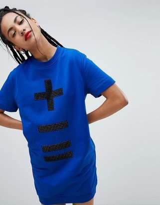 Love Moschino Calculus Print Dress
