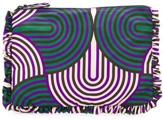 La DoubleJ oversized zip pouch