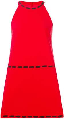 Moschino halter neck shift dress