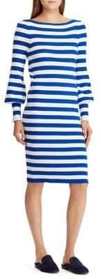 Lauren Ralph Lauren Striped Shift Shirtdress