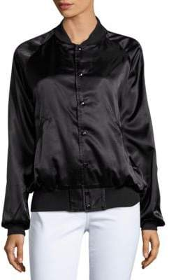 Bow And Drape Drake Fan Club Bomber Jacket