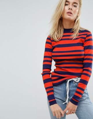Tommy Jeans Stripe Logo Knitwear
