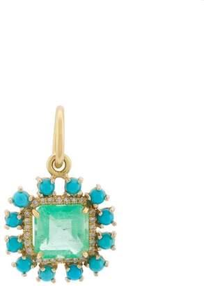 Irene Neuwirth stone pendant necklace
