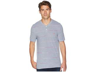 Original Penguin Short Sleeve Space Dye Stripe