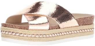Jessica Simpson Women's Shanny Slide Sandal Pale Rose Gold 11 Medium US