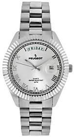 Peugeot Men's Stainless Bedford Bracelet Watch