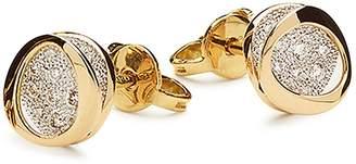 Antonini 18K Yellow Gold Atolli Diamond Small Stud Earrings