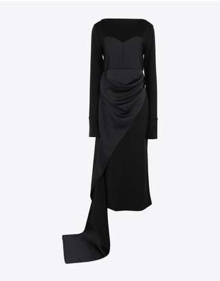 Maison Margiela Dress With Bodice Details