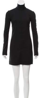 Helmut Lang Wool-Blend Cutout Dress w/ Tags