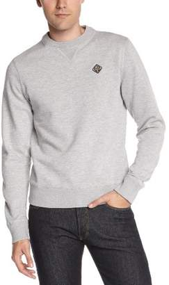 Schott NYC Schott Men's SWFALCON1 Plain or unicolor Round Collar Long sleeve Sweatshirt