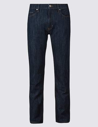 Marks and Spencer Cotton Linen Straight Fit Authentic Jeans