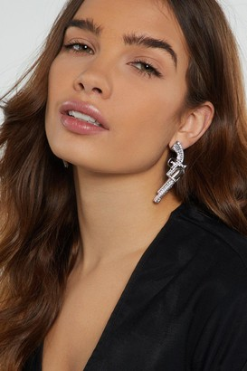 Nasty Gal Duel Player Western Earrings