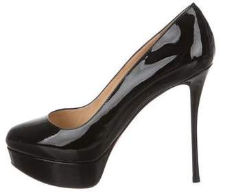 Christian Louboutin Dirditta 130 Patent Leather Pumps