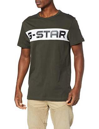 G Star Men's Rodis Block T-Shirt,Medium