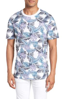 Ted Baker Slim Fit Tinned Floral Graphic T-Shirt
