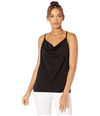 b2bd5e305ac74 Susana Monaco High Cowl Neck Thin Strap Tank Top