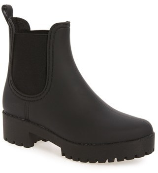 Women's Jeffrey Campbell Cloudy Chelsea Rain Boot