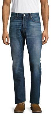 Cotton Whiskered Denim Pants $680 thestylecure.com