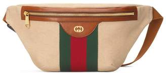 Gucci Vintage canvas belt bag