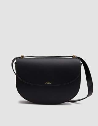 A.P.C. Geneve Shoulder Bag in Black