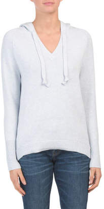 Hooded Sweater With Thumbholes